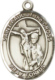 Religious Medals: St. Paul of the Cross SS Medal