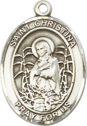 Religious Medals: St. Christina the Astonishing