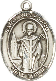 Religious Medals: St. Wolfgang SS Saint Medal