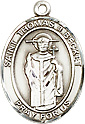 Religious Medals: St. Thomas A Becket SS Medal