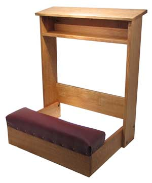 On Custom project: Looking for Woodworking plans prayer kneeler